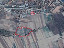 Teren intravilan constructii industriale Hateg 62770 mp