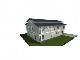 Apartament cu 4 camere cu gradina si mansarda