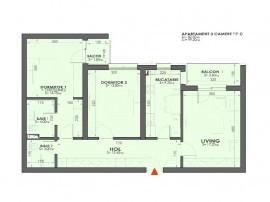 Apartament 3 camere complex nou langa Mall Plazza Romania