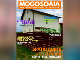 VILA INDIVIDUALA CU O CURTE COCHETA IN MOGOSOAIA LA SCHIMB C