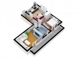 Apartament 2 camere | decomandat | Incalzire in pardoseala