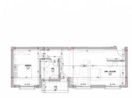 Apartament 2 camere, 45 mp, pe strada Tineretului, Floresti