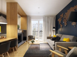 Apartament 2 camere tip Studio Theodor Pallady-Metrou Nic...