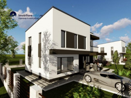 Casa in stil mediteranean, 4 camere, 2 locuri parcare - zona