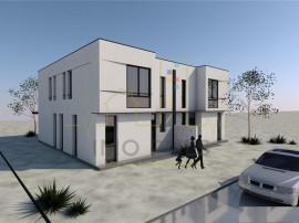 Duplex proiect MODERN. Cu ASFALT si UTILITATI
