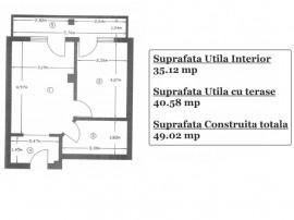 Garsoniera etaj 2 apartament nou Negru Voda