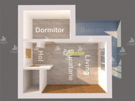 2 Camere, Semidecomandat, Bloc Nou, Semifinisat, Zona Borhan
