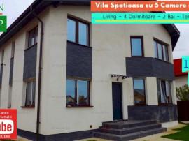 Vila Spatioasa cu 5 Camere, Garaj, Teren 750mp in Crevedia