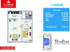Apartament 2 camere, etaj 2, 52.000 euro, Militari - Metr...