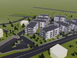 Apartament 3 camere bloc nou - Bucium