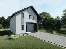 Direct de la dezvoltator,casa unifamiliala teren de 419 Arad