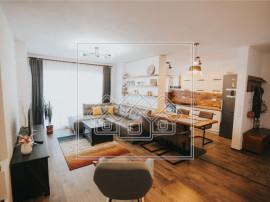 Ap cu 3 camere si balcon, mobilat si utilat modern, C.Kogaln