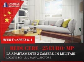 SUPER DEAL -25 E/mp! Apartament 2 camere, terasa 8 mp!