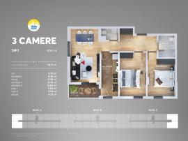 Apartament 3 cam Direct dezvoltator titan sun park 7