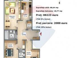 Apartament cu 3 camere în Arca Residence, Calea Feldioar...