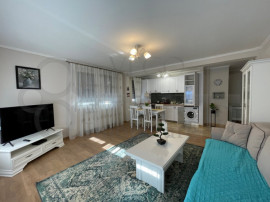 Apartament 2 camere, bloc nou, garaj subteran, zona Centrala