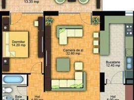 Apartament 3 camere decomandat bloc nou Garii, 109JE