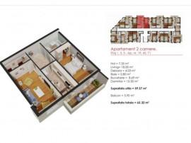 Apartament 2 camere - Aparatorii Patriei