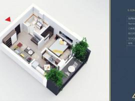 Apartament 2 camere tip Studio -Titan - Pallady - Metrou ...
