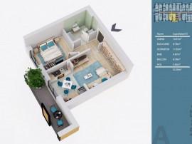 Apartament 2 camere tip Studio-Pallady-Metrou Nicolae Tec...