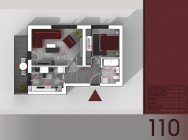Apartament 2 camere-Metrou TITAN-PARC I.O.R.