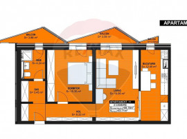 Apartament 2 camere de vanzare-ZONA CENTRUL VECHI