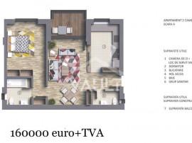 Cod P4404 - Apartament 2 camere LUX - Imobil 2022 - Polona