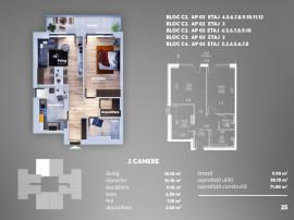 Apartament 2 camere - MODERN - 2 min Aparatorii Patriei