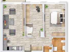 Apartament nou, 3 camere, finisat, Prima Decebal, 65mp