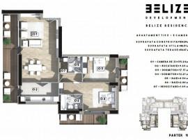 Apartament,3 camere,Pantelimon,Belize Residence