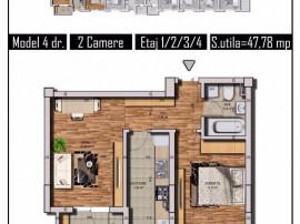 Apartament 2 camere, decomandat, Tineretului, Chiajna