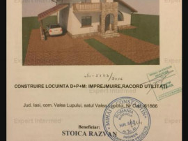 COMISION 0% Casa Pacurari, 2018, 500 mp teren, asfalt