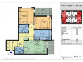 Apartament 3 camere decomandat lux acte la zi centru
