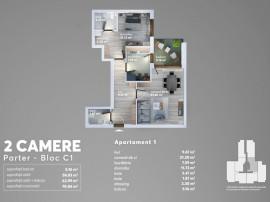 Apartament 2 camere in Berceni Carrefour Grand Arena