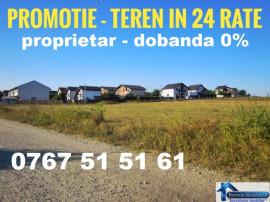 Teren in 6-24 Rate cartier nou intrare Berceni Ciulin 280 mp