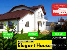 Casa Eleganta cu peste 500 mp teren in Crevedia
