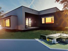 Casa, Mosnita Noua, proiect deosebit, modern