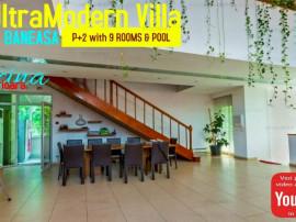 Vila cu Piscina si 9 Camere cu Aspect Ultramodern in Baneasa
