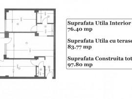 Apartament 2 camere Goldis Residence Etaj 1 din P+2+M