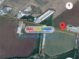 Ganeasa Ilfov teren constructie hale 15000 mp, intravilan