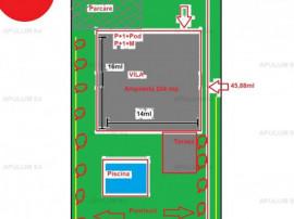 Teren Intravilan | 780 mp | Deschidere 17ml | Bd. Pipera la
