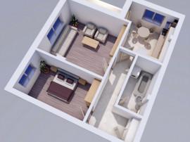 Apartament 2 camere, Dealul Galata-Platoul Insorit