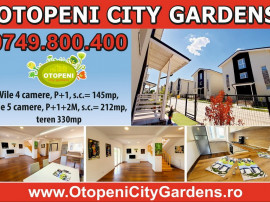 OTOPENI CITY GARDENS - 125.000 euro +tva - vila 4 camere