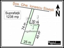 Baneasa - Sisesti stradal, 1238 mp