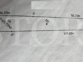 Teren geamana Stradal 2175 mp