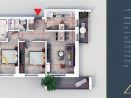 Apartament 3 camere- metrou Teclu- Direct dezvoltator