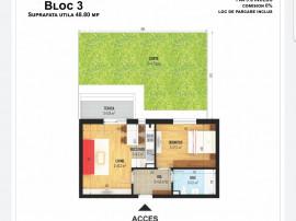 Apartament 2 camere+gradina