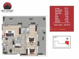 Apartament superb 3 camere spatioase cu terasa 67 mp Loc de