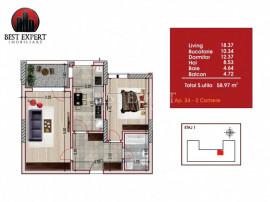 Theodor Pallady -Titan Apartament 2 camere decomandate