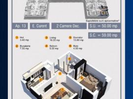Apartament 2 camere in complex rezidential nou Militari